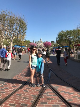 Spring on Main Street Disneyland